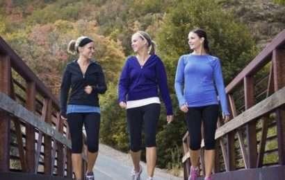 Правила бега для женщин
